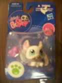 Littlest Pet Shop (Chinchilla White with Blue Eyes 1401 )